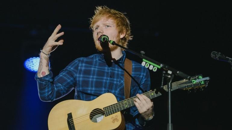Cu Ed Sheeran în Praga